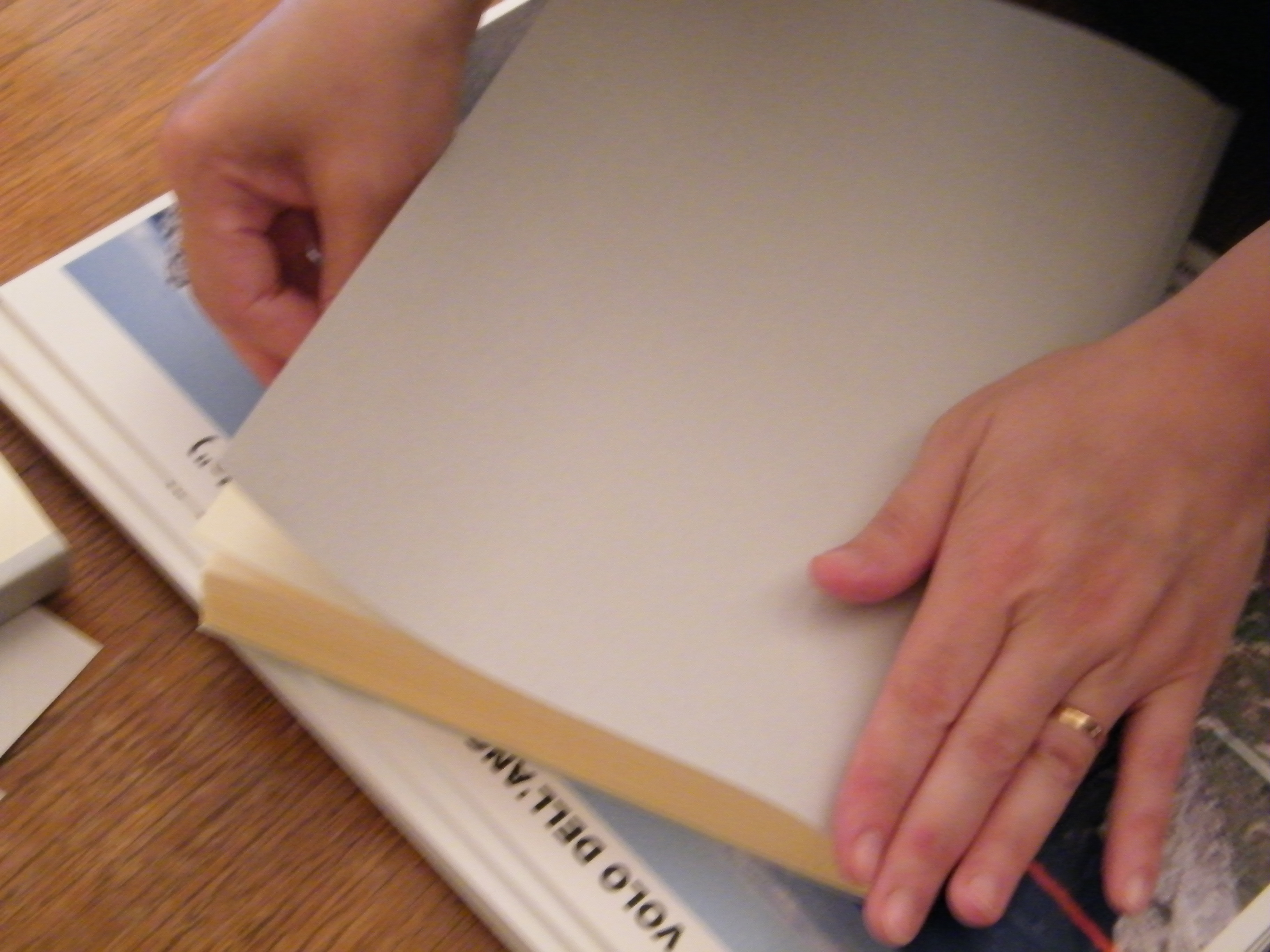 Libro Braille-Large Print per il Progetto Welcome